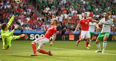 يورو 2016.. هدف ملغٍ فى شوط سلبى بين ويلز وأيرلندا الشمالية