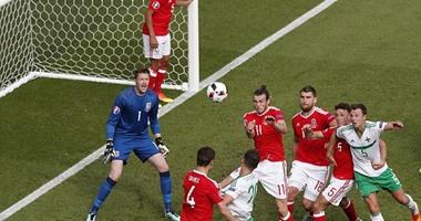يورو 2016.. ويلز يتقدم على أيرلندا الشمالية 1/0 بالدقيقة 75