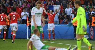 يورو 2016.. ويلز يتأهل لربع النهائى للمرة الأولى فى تاريخه