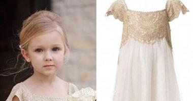 4e56f9c348b14 لو عندك مناسبة فى العيد.. بالصور.. فساتين أطفال تظهر ابنتك كأميرة ...