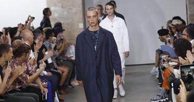 d54f17d17 تصميمات رجالى أنيقة فى عرض أزياء Julien David بباريس - اليوم السابع