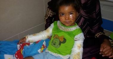 والد الطفلة هاجر ضحية إهمال الكهرباء: لم يتحرك أحد وبنتى حالتها سيئة بالمستشفى