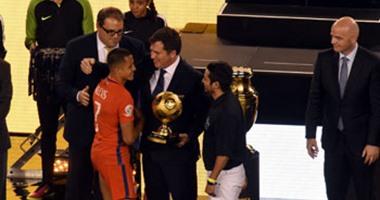 سانشيز أفضل لاعب وبرافو أحسن حارس فى كوبا أمريكا