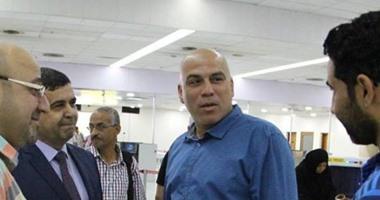 محمد يوسف يصل العراق لتوقيع عقود تدريب الشرطة