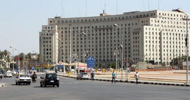 تعيين خدمات مرورية فى محيط تطوير ميدان التحرير منعًا للحوادث والزحام