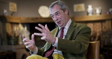 حزب بريكست يتصدر أحزاب بريطانيا فى استطلاع رأى قبل انتخابات البرلمان الأوروبى