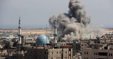 جانب من أحداث غزة