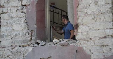 محافظ القاهرة يتفقد موقع حادث انفجار القنصلية الإيطالية