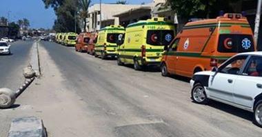 تعطل عمليات اجلاء الشهداء والمصابين بسيناء