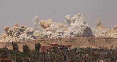 داعش يفجر ملعب الرمادى الأوليمبى