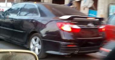 صحافة المواطن.. قارئة ترصد سيارة بدون  لوحات معدنية  بالإسكندرية