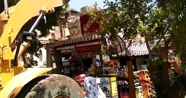 إعدام أغذية فاسدة تباع أمام مدارس الفيوم وتحرير 119 محضرًا للمخالفين