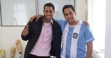 وفدان من كفر الشيخ لتهنئة وتكريم رجل المفرقعات بحضور أمن الإسكندرية