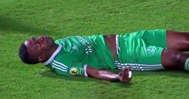 """""""كاف"""" يرسل رئيس اللجنة الطبية للقاهرة لتفقد حالة لاعب ليوبار"""