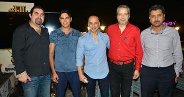"""بالصور.. نجوم المجتمع يحتفلون بافتتاح مطعم """"باب الخلق"""" مع رجل الأعمال ياسر سليم"""