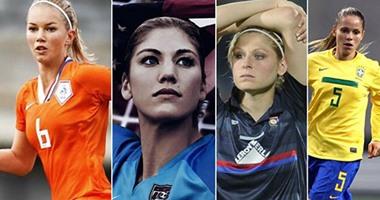 بالصور.. أجمل 15 لاعبة فى مونديال سيدات 2015
