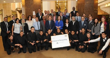 فندق شهير بالقاهرة يطلق برنامجا لتدريب طلبة المدارس