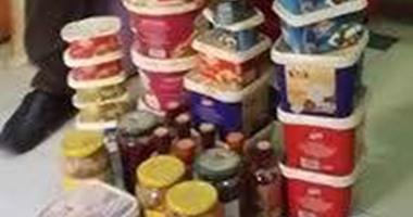 حبس صاحب مخزن لاتهامه بحيازة مواد غذائية مجهولة المصدر بالقاهرة