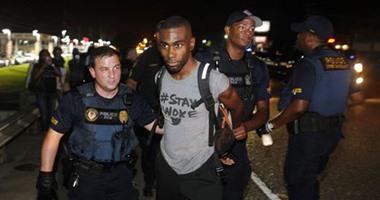 الشرطة الأمريكية تشتبك مع محتجين على بناء خط أنابيب نفطى فى نورث داكوتا