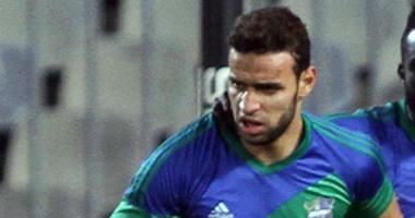 ميدو جابر يحرز الهدف الأول للمقاصة أمام إنبى والنتيجة 2 / 1