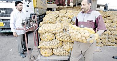 شركة تتبرع بـ5 طن بطاطس لتوزيعها على الفقراء بالأقصر