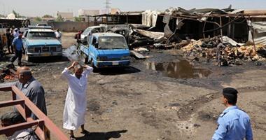 مصادر: ارتفاع حصيلة قتلى تفجير سيارة ملغومة شمالى بغداد إلى 9