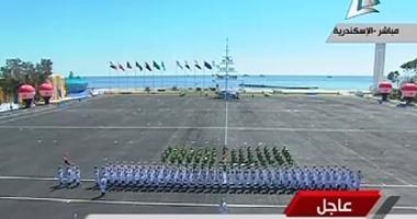 بالفيديو.. مدير الكلية البحرية: الخريجون الجدد قادرون على الدفاع عن الوطن
