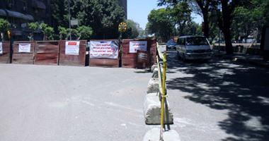 الجيزة: غلق جزئى لتقاطع شارعى ربيع الجيزى ونور المصطفى لنقل خطوط مياه شرب