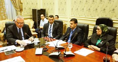 """بالصور.. بدء اجتماع مغلق لـ """"خارجية النواب"""" بشأن دعوة سفارة فلسطين لإحياء السلام"""