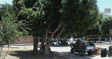 صحافة المواطن:  بالصور.. حديقة السلام فى أسوان تتحول لوكر مخدرات
