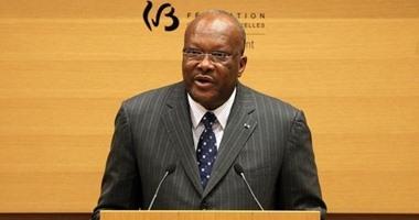 التلفزيون الرسمى لبوركينا فاسو: استقالة حكومة البلاد