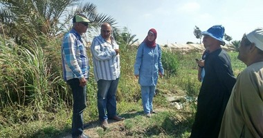 بالصور..رئيس مدينة بورفؤاد تتفقد القرى الزراعية والوحدة الصحية بسهل الطينة