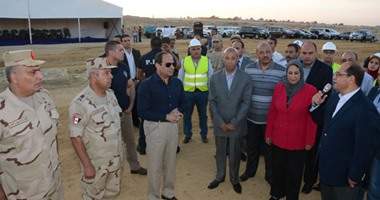 محافظة القاهرة تنتهى من تسكين 842 أسرة من أهالى الدويقة بمدينة الأسمرات
