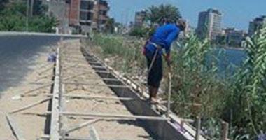 محافظ دمياط يتابع استكمال العمل بطريق على الصياد كمحور مرورى بالمدينة