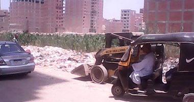"""رئيس مدينة المحلة يتابع مبادرة """"حلوة يابلدى"""" بحضور وفد من مجلس الوزراء"""