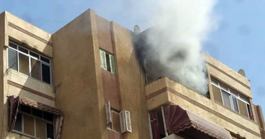 الحماية المدنية تسيطر على حريق شقة بالمنوفية وربة المنزل تتهم زوجها