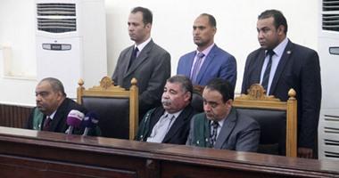 تأجيل محاكمة بديع و738 فى فض اعتصام رابعة لـ19 نوفمبر