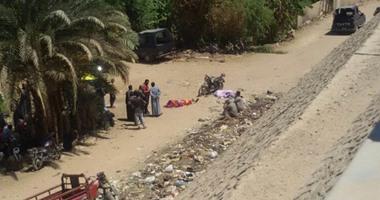 عامل يلقى مصرعه بسبب خصومة ثأرية فى المنطقة الجبلية بالبلينا ، سوهاج