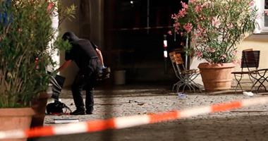 قتيل و11 جريحا  فى تفجير مطعم بمدينة انسباخ الألمانية