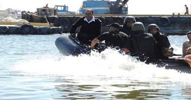 استعدادات أمنية مكثفة لشرطة المسطحات المائية لتأمين احتفالات رأس السنة