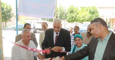 محافظ السويس يفتتح معرض الأسر المنتجة بمنطقة الملاحة