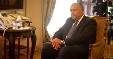 وزير الخارجية ونظيره القبرصى يؤكدان عمق علاقات التعاون ببن البلدين