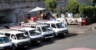 مرور القليوبية يحرر 3 قضايا بلطجة بحملة على مواقف السيارات -