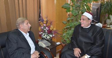 الشيخ مجدى بدران وكيلا لوزارة الأوقاف فى الإسماعيلية