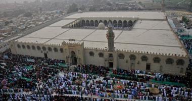 خطيب جامع عمرو بن العاص يحذر من ربط فرحة العيد بمعصية الله