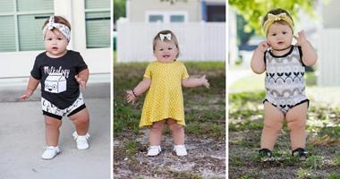 1578eccfd أفكار ملابس أطفال لبنتك من صور
