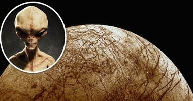"""علماء ناسا يعتقدون بوجود كائنات فضائية على قمر المشترى """"أوروبا"""""""