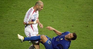 سانيول قاطعت زيدان سنتين بعد نطحة ماتيررازى في نهائي كأس العالم
