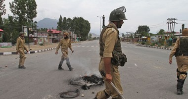 مصرع 5 من عناصر الشرطة الهندية فى انفجار لغم شرقى البلاد