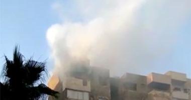 السيطرة على حريق داخل شقة سكنية فى أكتوبر دون إصابات